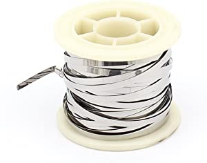 uxcell 10M 33Ft 0.2x3mm Nichrome Flat Heater Wire for Heating Elements