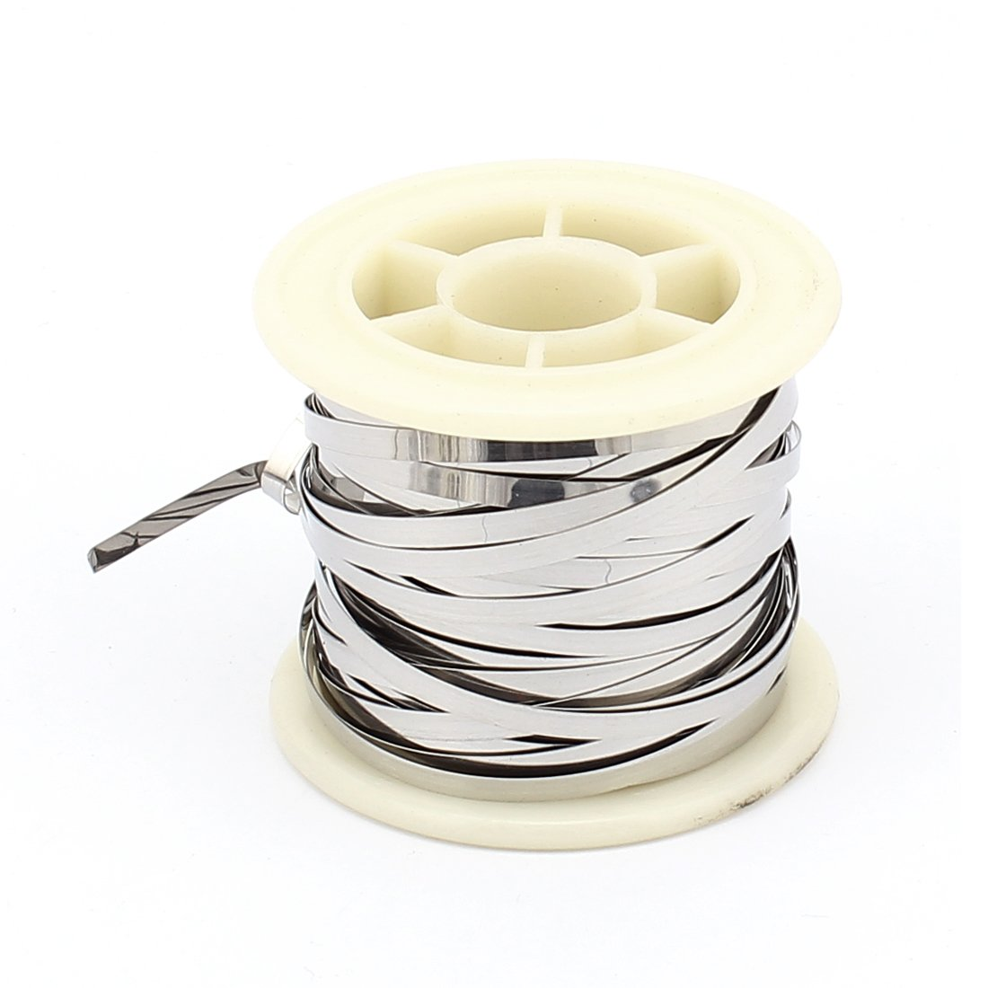 uxcell 10M 33Ft 0.2x3mm Nichrome Flat Heater Wire for Heating ...