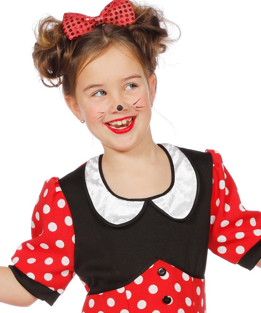 Karneval Klamotten Minnie Mouse Kostum Kinder Minnie Maus Kostum