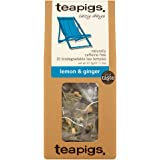 Teapigs Lemon and Ginger 15 Biodegradable Tea Bags, 37.5 g
