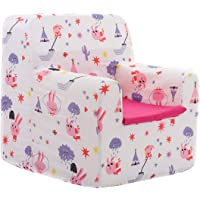 SLEEPAA Sillon bebe rosa 1-4 años Desenfundable Lavable