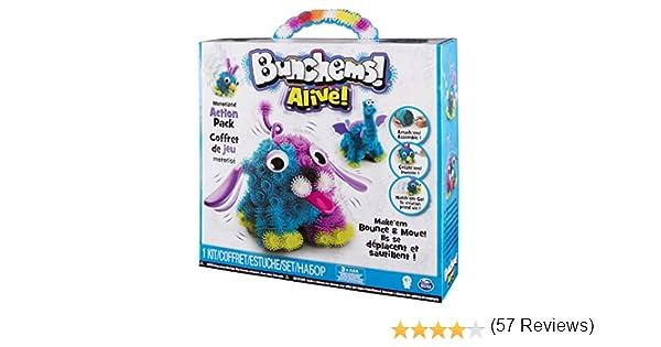 Spin Master Bunchems Alive Bunchems 580g Multicolor - Compuestos para cerámica y modelaje (Bunchems, Multicolor, Niños, China, 4 año(s), Niño/niña): Amazon.es: Juguetes y juegos