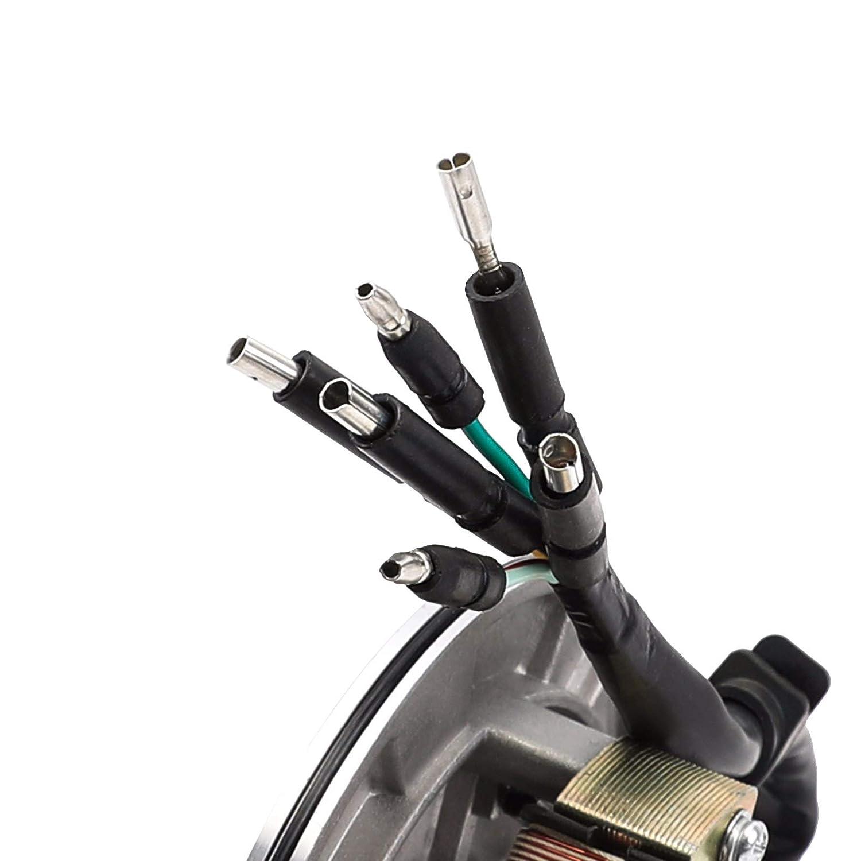 WPHMOTO 2 Coil Stator Lgnition Magneto Plate for 50cc 70cc 90cc 110cc 125cc Dirt Pit Bike