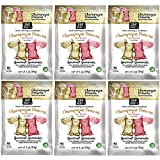Project 7 Champagne Dreams Brut and Rose Gourmet Gummies - Non-Alcoholic, No Artificial Colors, Flavors or Preservatives - 2 oz, Pack of 6
