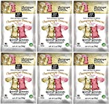 Project 7 Champagne Dreams Brut and Rose Gourmet Gummies - Non-Alcoholic, No Artificial Colors, Flavors or Preservatives - Pack of 6