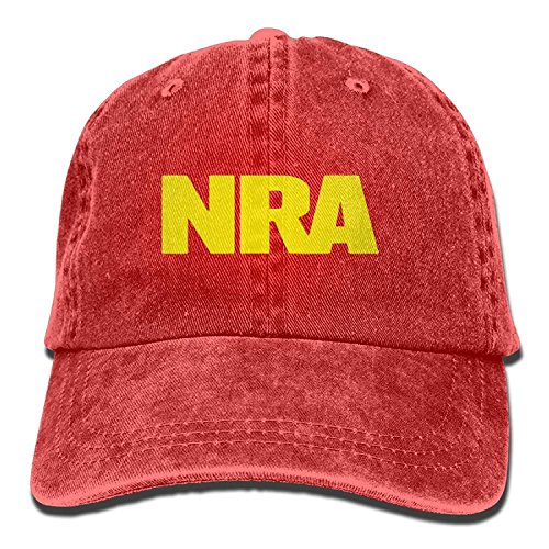 NRA National Rifle Association Unisex Vintage Adjustable Jean Cap Dad  Trucker Hat ad6ea1271495