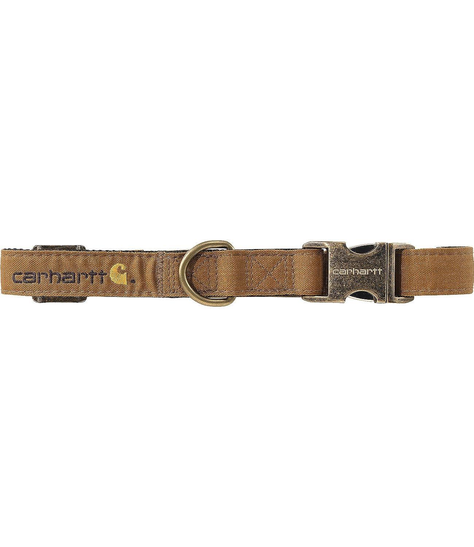 Carhartt Brown S M Carhartt Brown S M Carhartt Gear 102004 Journeyman Double Layer Dog Collar