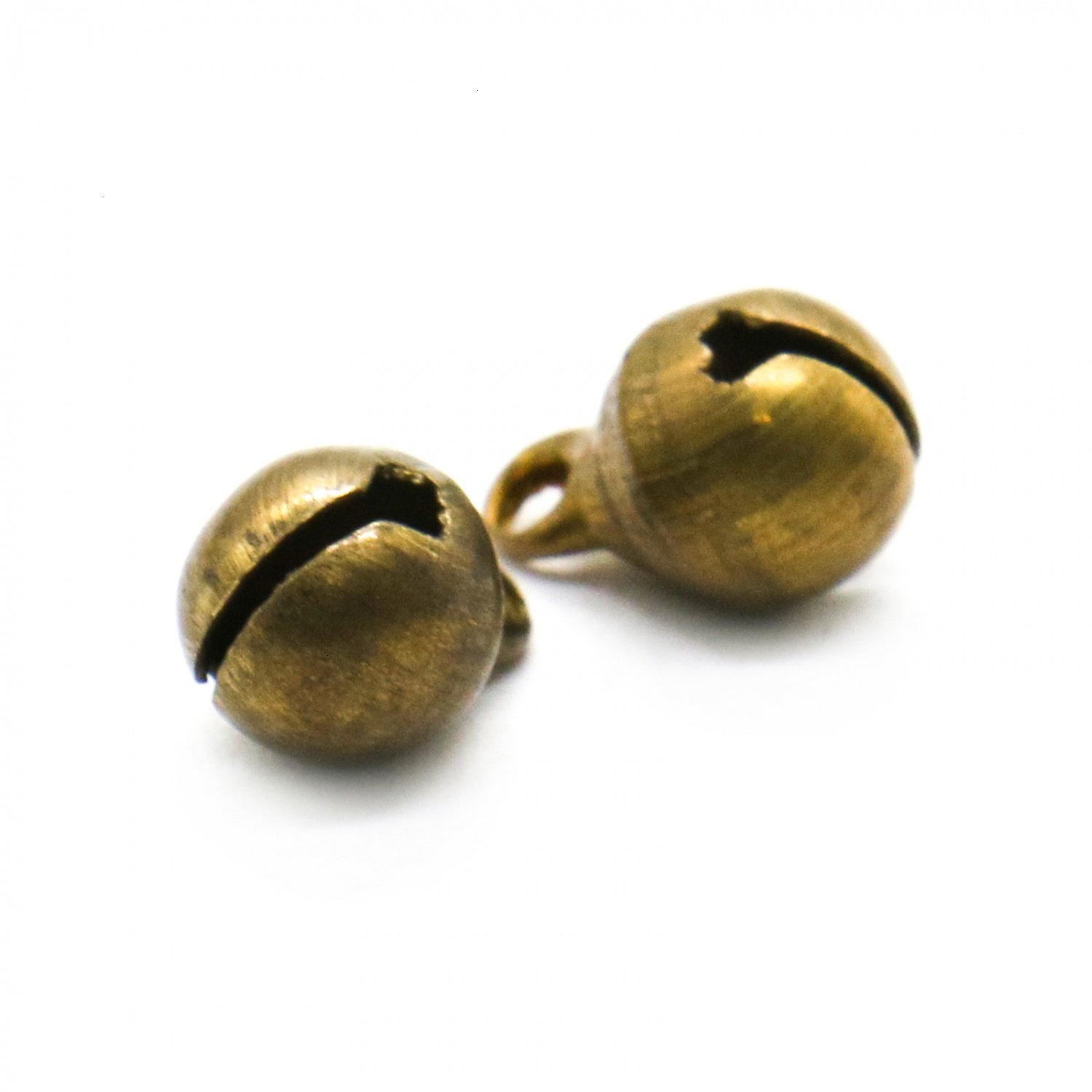 RTNOW 300pcs Fashion Bronze Jingle Bell/Small Bell/Mini Bell for DIY Bracelet Anklets Necklace Knitting/Jewelry Making