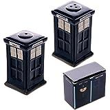 Ceramic London Salt and Pepper Set, Police Box