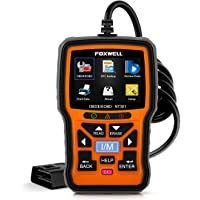 $66 » FOXWELL NT301 OBD2 Scanner Professional Mechanic OBDII Diagnostic Code Reader Tool for…
