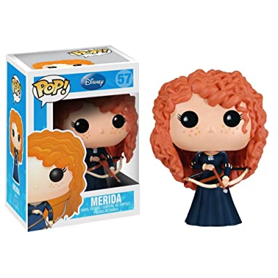 Funko POP Disney Series 5: Merida Vinyl Figure: Funko Pop! Disney:: Toys & Games