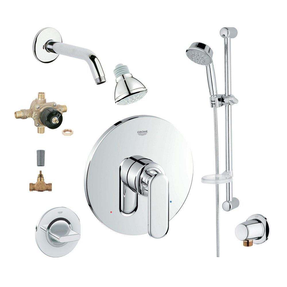Grohe 2WVC-VEPC Custom Shower 2-Wall Volume Control System