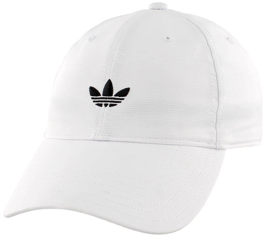 adidas Men's Originals Relaxed Strapback Cap, White, One Size by adidas Originals (Image #3)