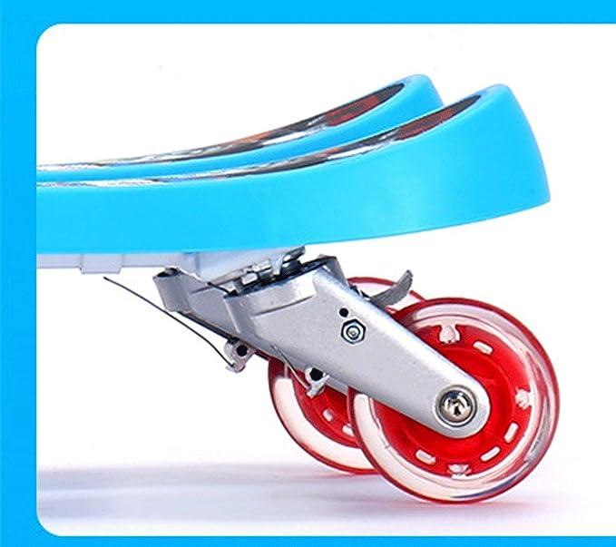 Amazon.com: Baianju - Patinete con 4 ruedas con dos patas ...
