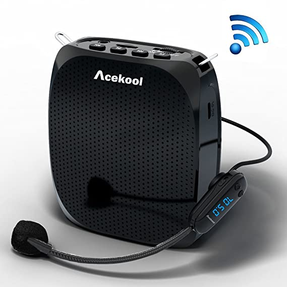 Review Acekool Portable Wireless Voice