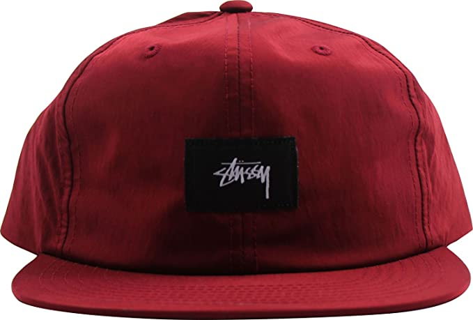 7f554425f04 Stussy Stock Strap Cap Red  Amazon.co.uk  Clothing