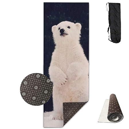HiExotic Estera Yoga Mat Eco-Friendly Anti Slip Polar Bear ...