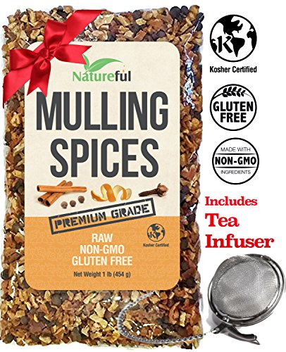 Mulling Spices for Mulled Wine Apple Cider Teas Kit: Holiday Special with Free 2