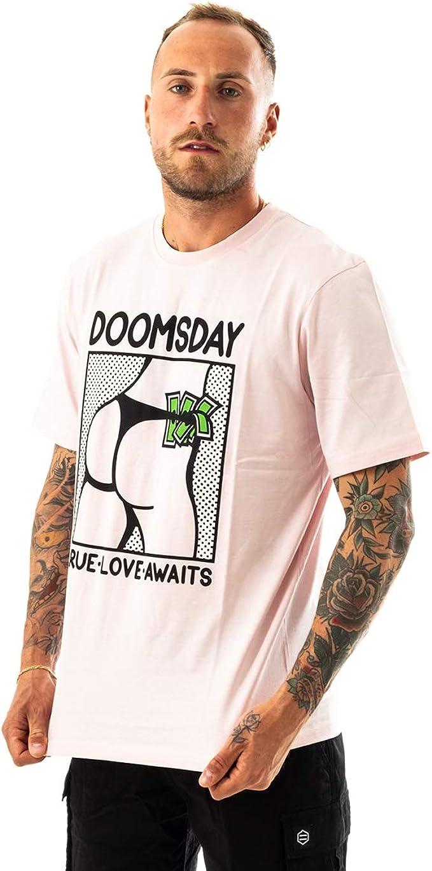 Doomsday T-Shirt UOMO True Love T- Shirt TSH0205PINS: Amazon.es: Ropa y accesorios