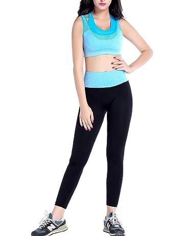 Sidiou Group Sport Bra Set Reggiseno Sportivo Donna Pantaloni da Yoga  Abbigliamento Yoga Abiti Fitness Pantaloni 6b54eef5e33