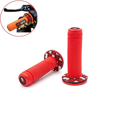 "JOYON Universal 7/8"" 22mm Motorcycle Hand Grips Handlebar for Yamaha Honda Kawasaki ATV Dirt Pit Bike Motocross: Automotive"