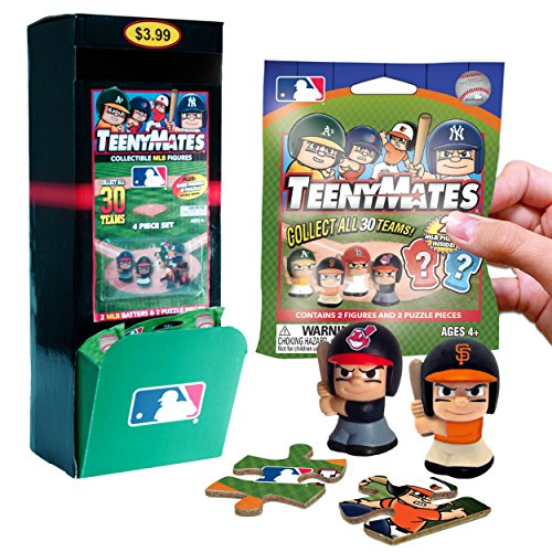 MLB Teenymates The Party Animal Series 1 Gravity Feed Box by Party Animal Toys