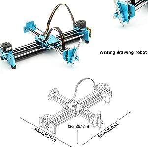 Plotter Writer Robot,Kit de robot escrito a mano Dibujo automático Máquina de escribir Plotter X Y Eje Máquina de firma A: Amazon.es: Oficina y papelería