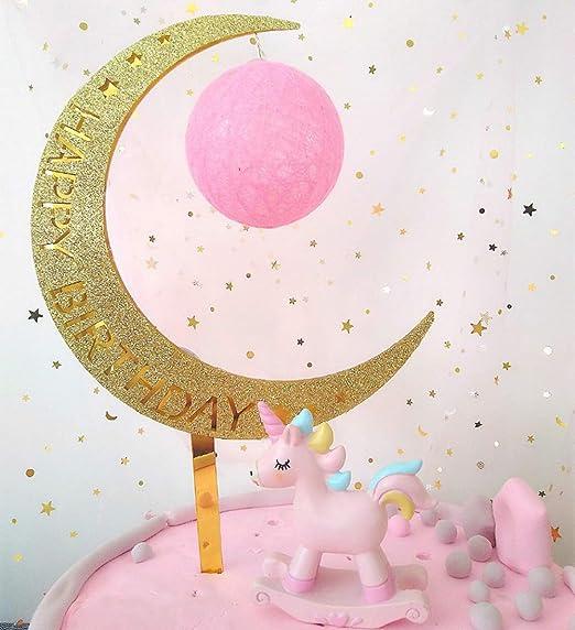 Amazon.com: Decoración para tarta de cumpleaños, suministros ...
