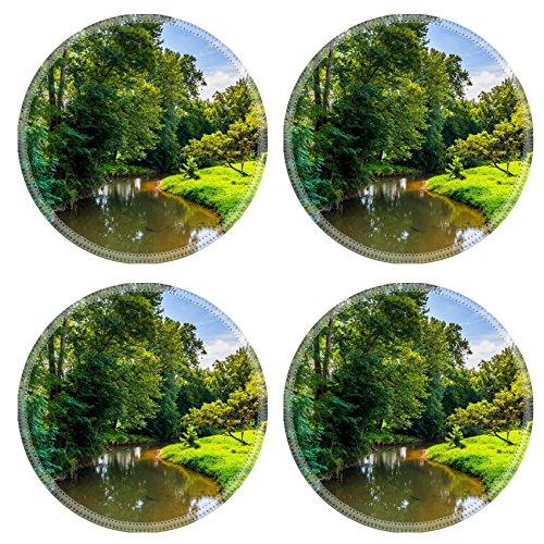 Msd Round Coasters Non Slip Natural Rubber Desk Coasters Design 25063192 View Of Codorus Creek In York County Pennsylvania