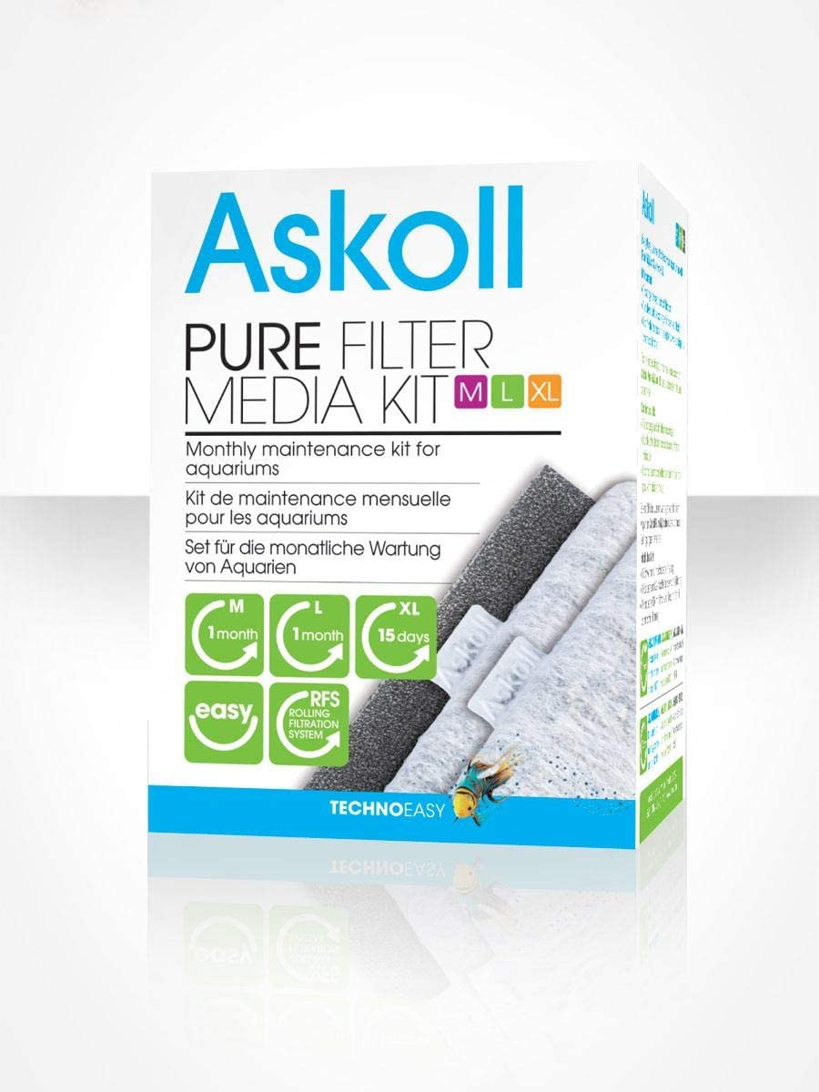 Askoll AC350013 Kit Ricambio filtranti per Pure M-L-XL