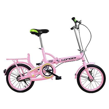 Bicicletas para niños Bicicletas para niños de 16 pulgadas Bicicletas plegables de acero con alto contenido