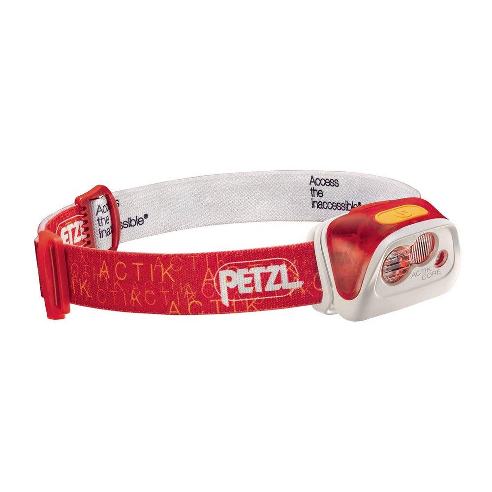 Petzl Actik Core Headband flashlight LED Red – Flashlights (Headband flashlight, Red, Buttons, IPX4, CE, LED)