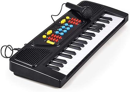 Juguete Musical para Niños Piano De 37 Teclas, Teclado De ...