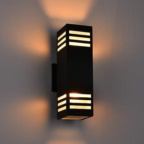 2 Pack Outdoor Wall Light Fixture