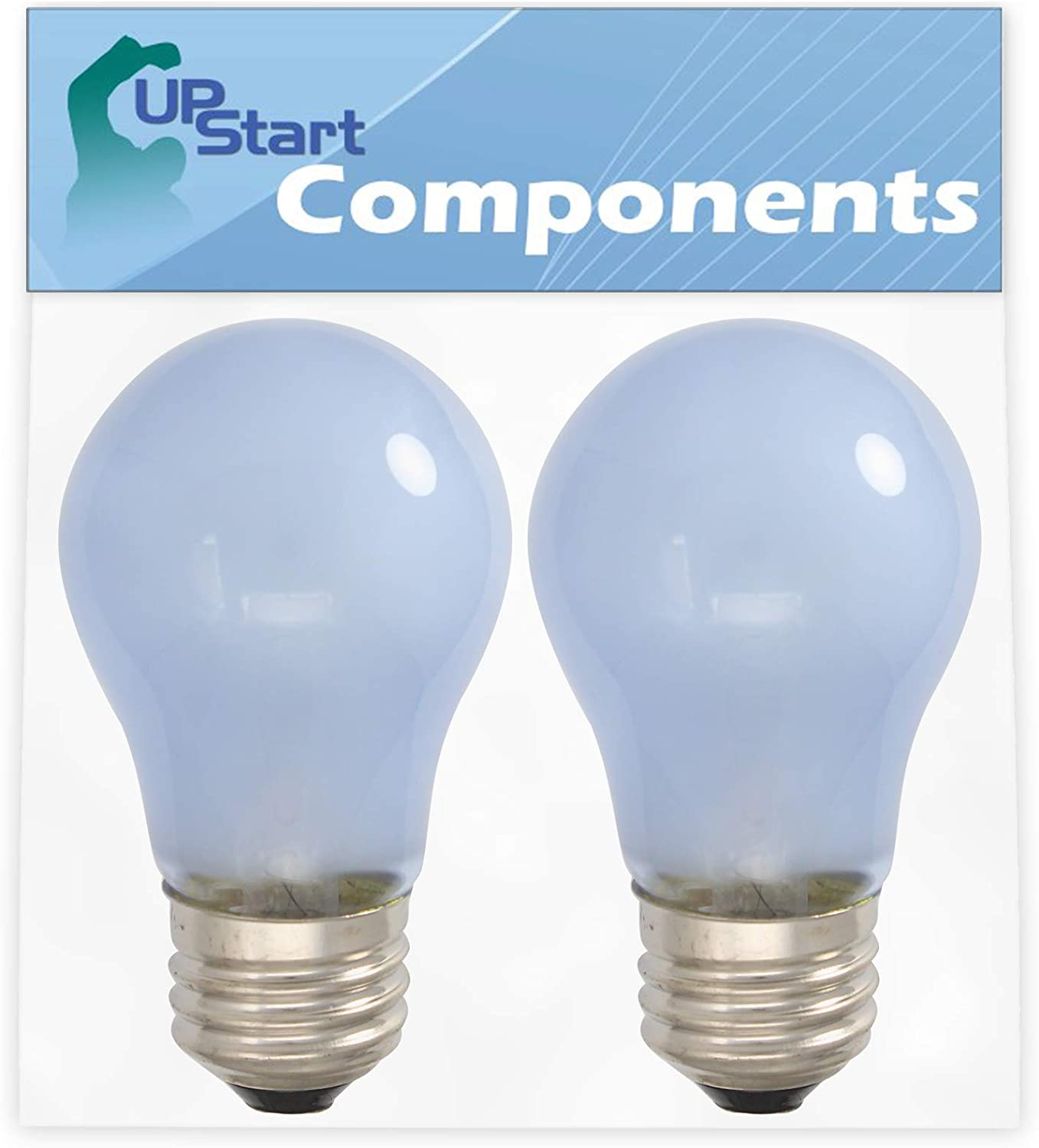 AH977006 Compatible with Frigidaire 241555401 /& Part Number AP3763141 1056583 2-Pack 241555401 Refrigerator Light Bulb Replacement for Frigidaire Refrigerators EA977006 PS977006