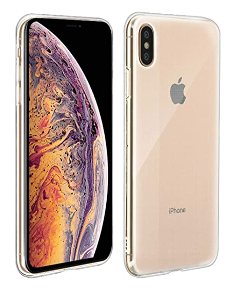 coque transparente iphone xs silicone