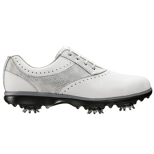 0136925932e39 FootJoy Women's Emerge-Previous Season Style Golf Shoes White 9.5 N