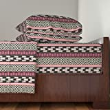 Roostery African 4pc Sheet Set African Fusion by Fable Design Queen Sheet Set made with
