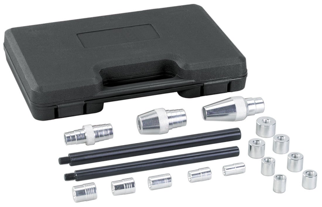 OTC 4528 SAE and Metric Clutch Alignment Tool Kit - 17 Piece OTC Tools