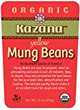 KazanaYellow Mung beans, USDA Certified Organic - 16 oz (453g), Pack of 10