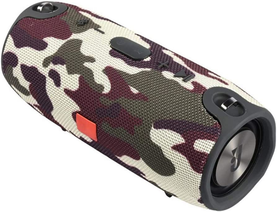 Greatideal Bocina Bluetooth Altoparlante Subwoofers Mini Altavoz Portátil Inalámbrico Portátil Impermeable Al Aire Libre para Telefono