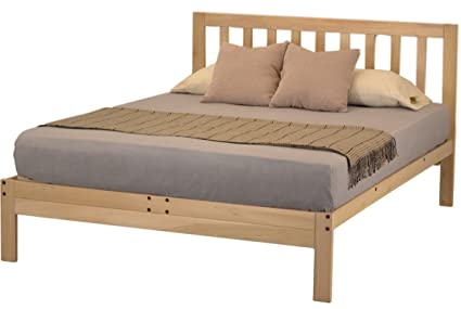 charleston 2 platform bed   full amazon    charleston 2 platform bed   full  kitchen  u0026 dining  rh   amazon