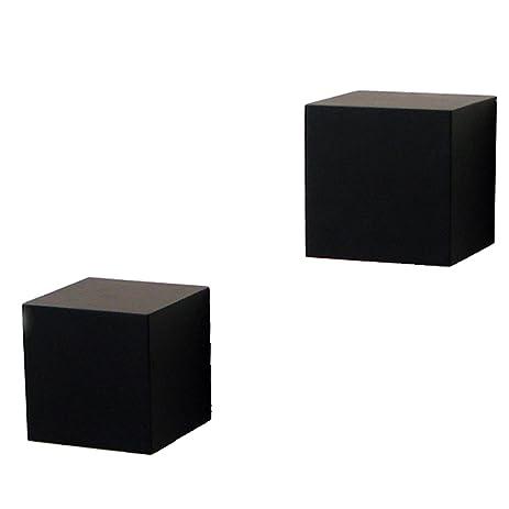 Amazon.com: Shelf-Made Decorative Wall Cubes, Pair, 5-Inch x 5 ...