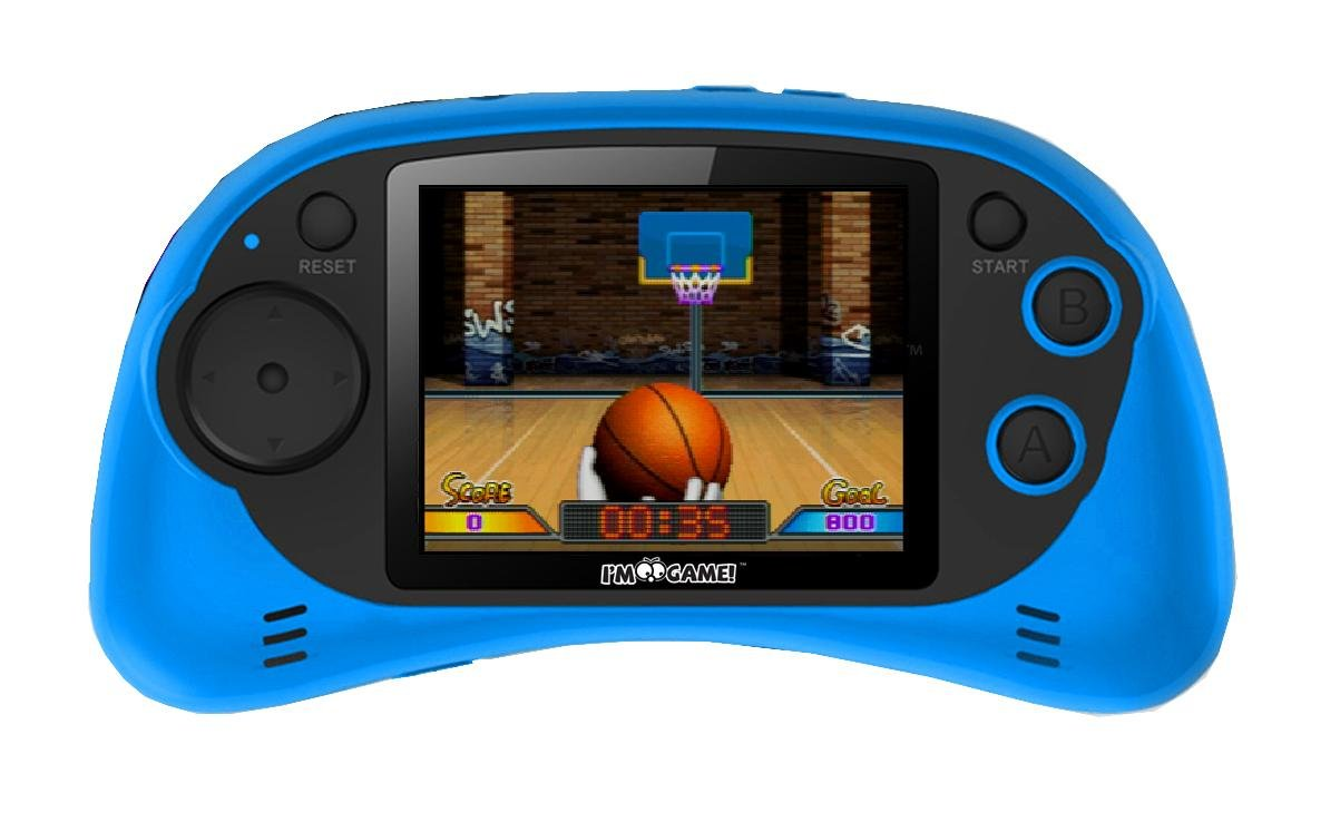 I'M Game 120 Games Handheld Player With 2.7-Inch Color Display Blue 2