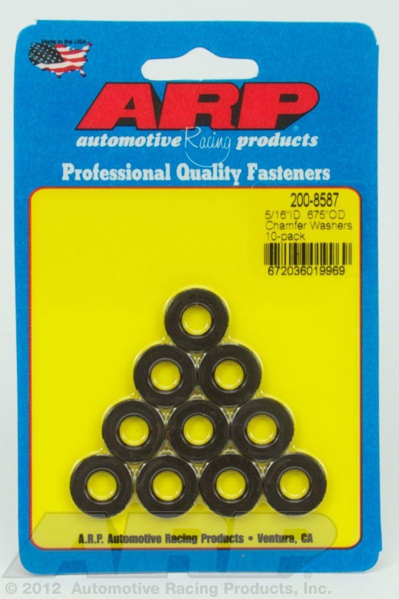 ARP 200-8587 BLACK WASHERS 5//16 ID