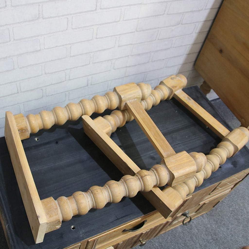 Pecho de cajones de madera maciza - mueble de madera de color ...