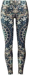 YUJIAKU Leggings Women Mandala Flower Digital Print Fitness Leggins Pantaloni Elastico Allenamento Plus Size Legging