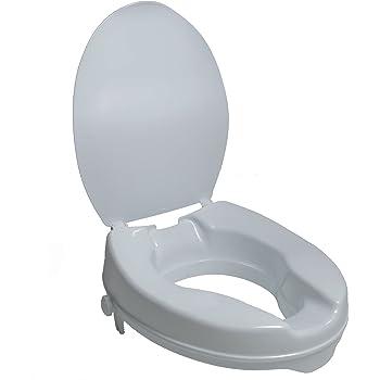 Bemis Medic Aid 4 Inch Toilet Seat Lift Spacer Round