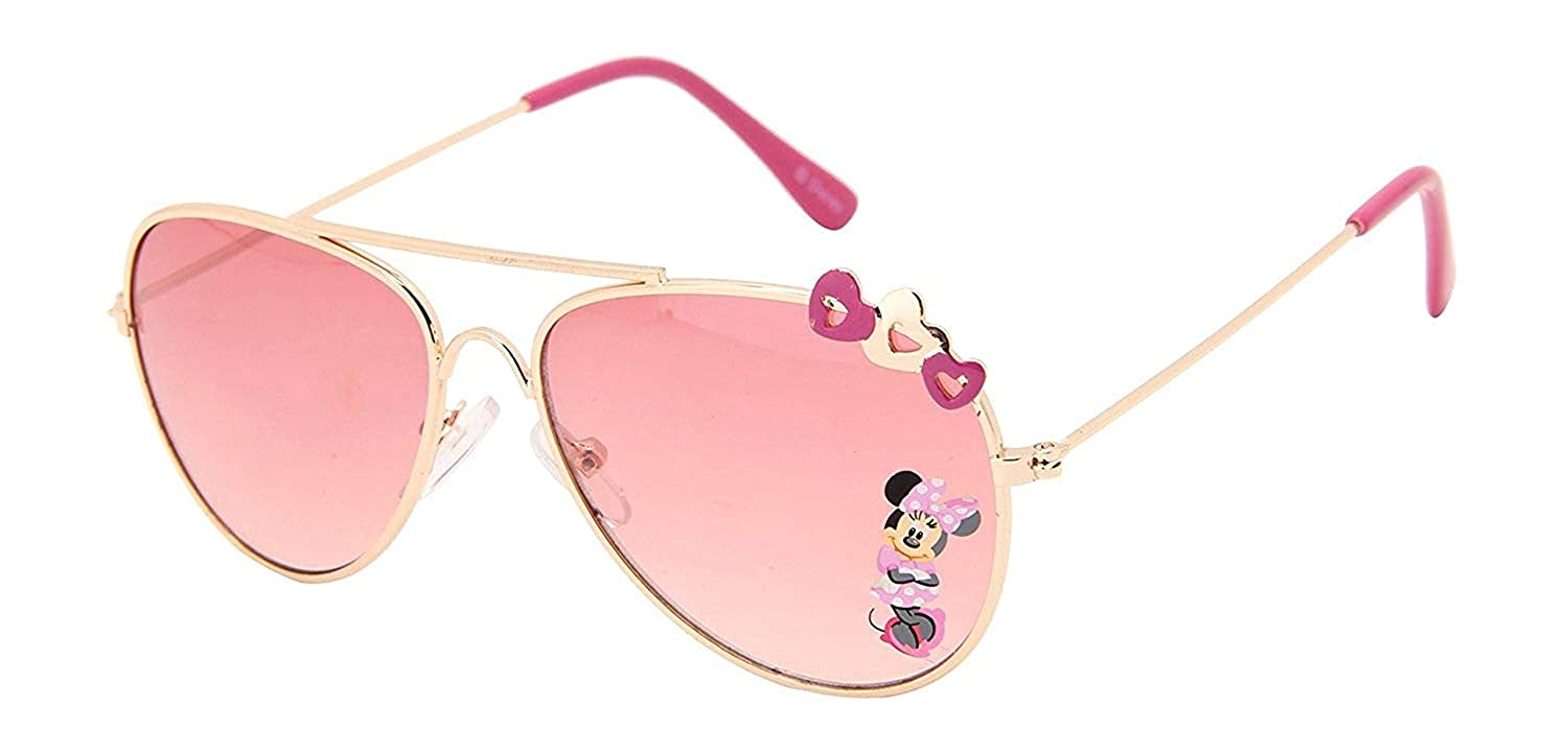 Disney Minnie UV Protected Pink Colour Aviator Girl's Sunglasses