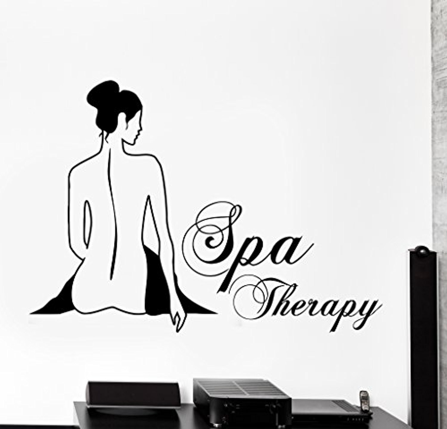Large Wall Vinyl Decal Spa Therapy Beauty Salon Home Interior Decor z4094